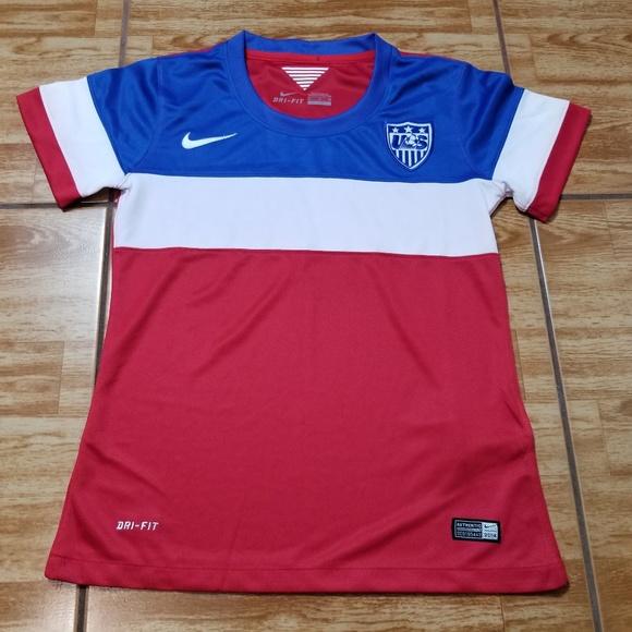 4e2cd8295 Nike USA FIFA World Cup Soccer Jersey Small Waldo.  M 5c7c9481035cf1b248c78c72